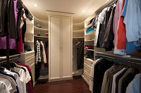 hide gun safe in closet